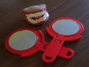 mouth puppets and mirrors to help ELL students with speech development