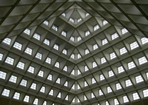 inside SGH's atrium